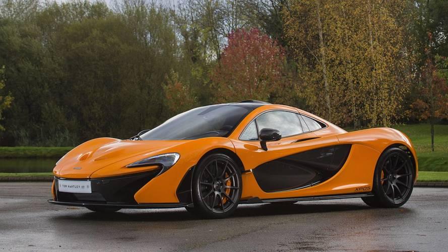 Nadir bulunan McLaren P1 prototipi satışta