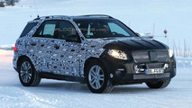 2015 / 2016 Mercedes M-Class spy photo 09.12.2013