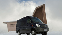 2014 Mercedes Sprinter 4x4 announced just in time for winter