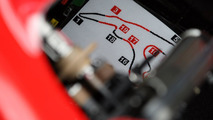 The circuit map in the cockpit of the car of Felipe Massa 28.08.2010 Belgium Grand Prix