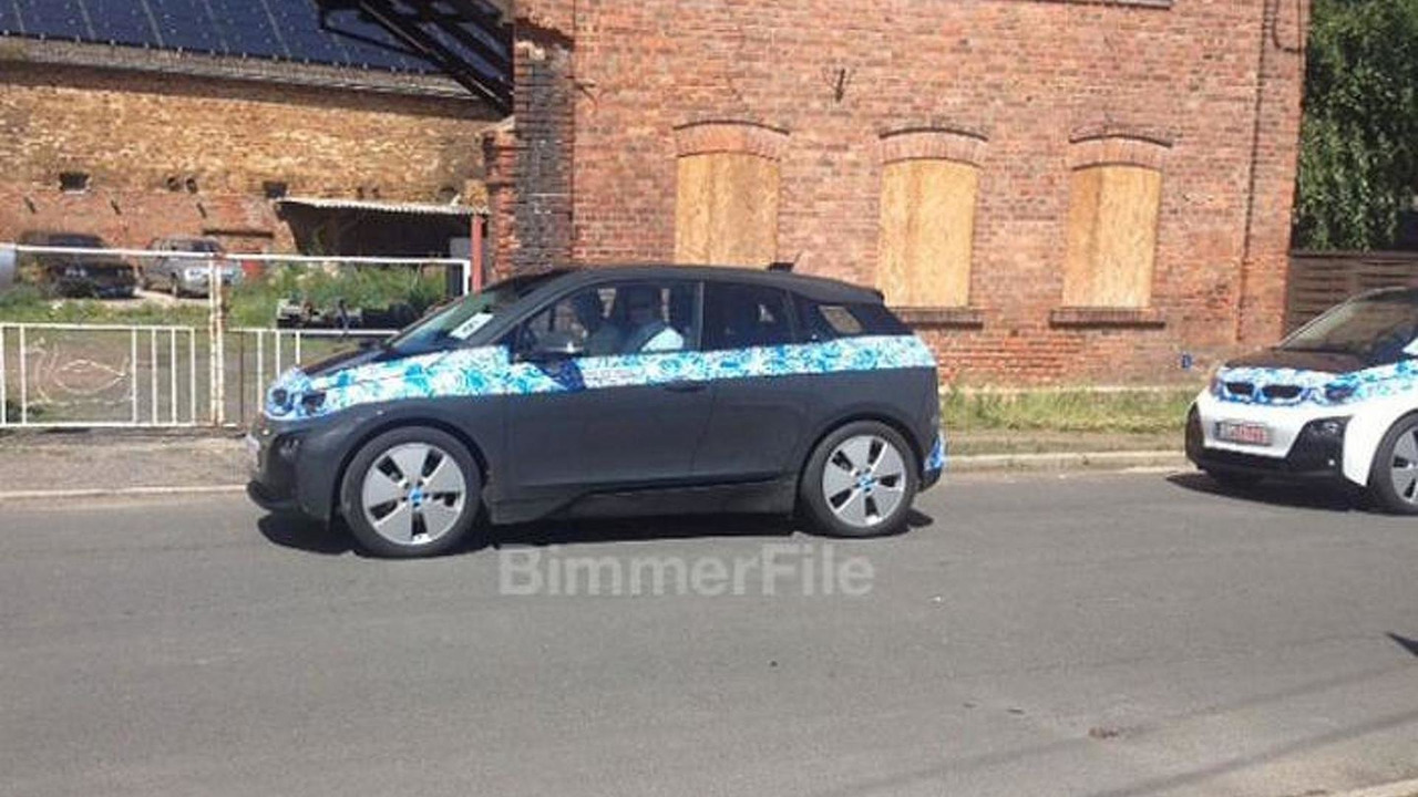 BMW i3 spy photo 28.06.2013