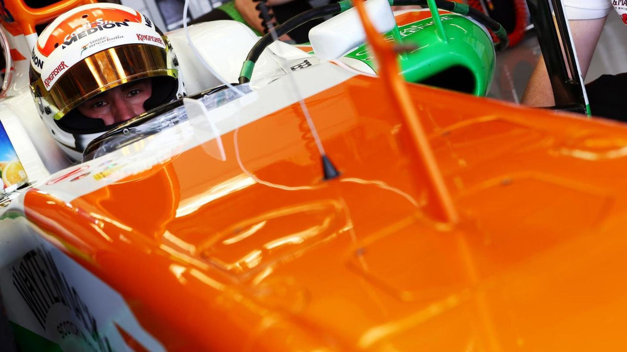 Adrian Sutil 16.11.2013 United States Grand Prix