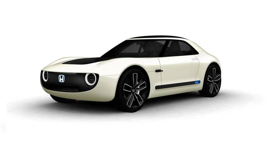 Honda Sports EV Concept: el futuro es eléctrico, biplaza... y retro