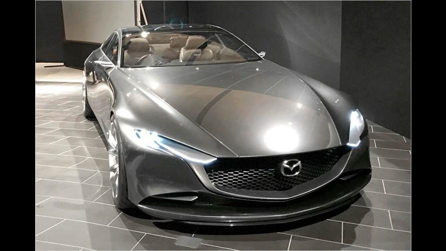 Mazda Vision Coupé: Extreme Eleganz