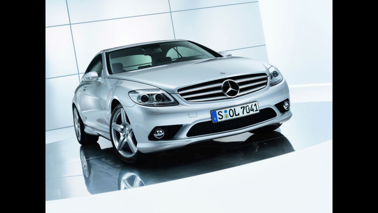 Mercedes Classe CL con AMG pack
