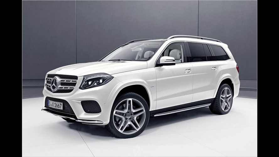Der Mercedes GLS Grand Edition