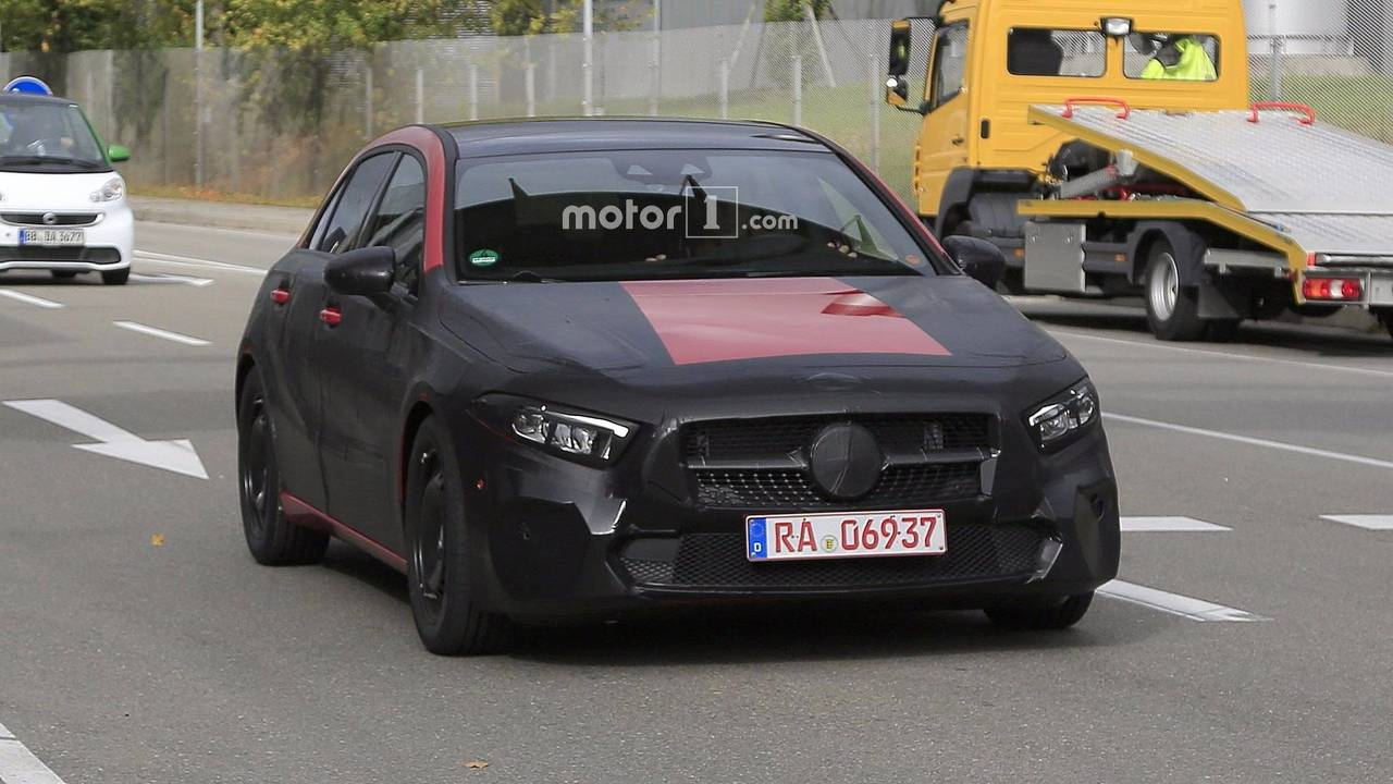 2019 Mercedes A-Class spy photo