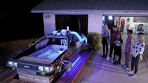 BTTF DeLorean hot tub
