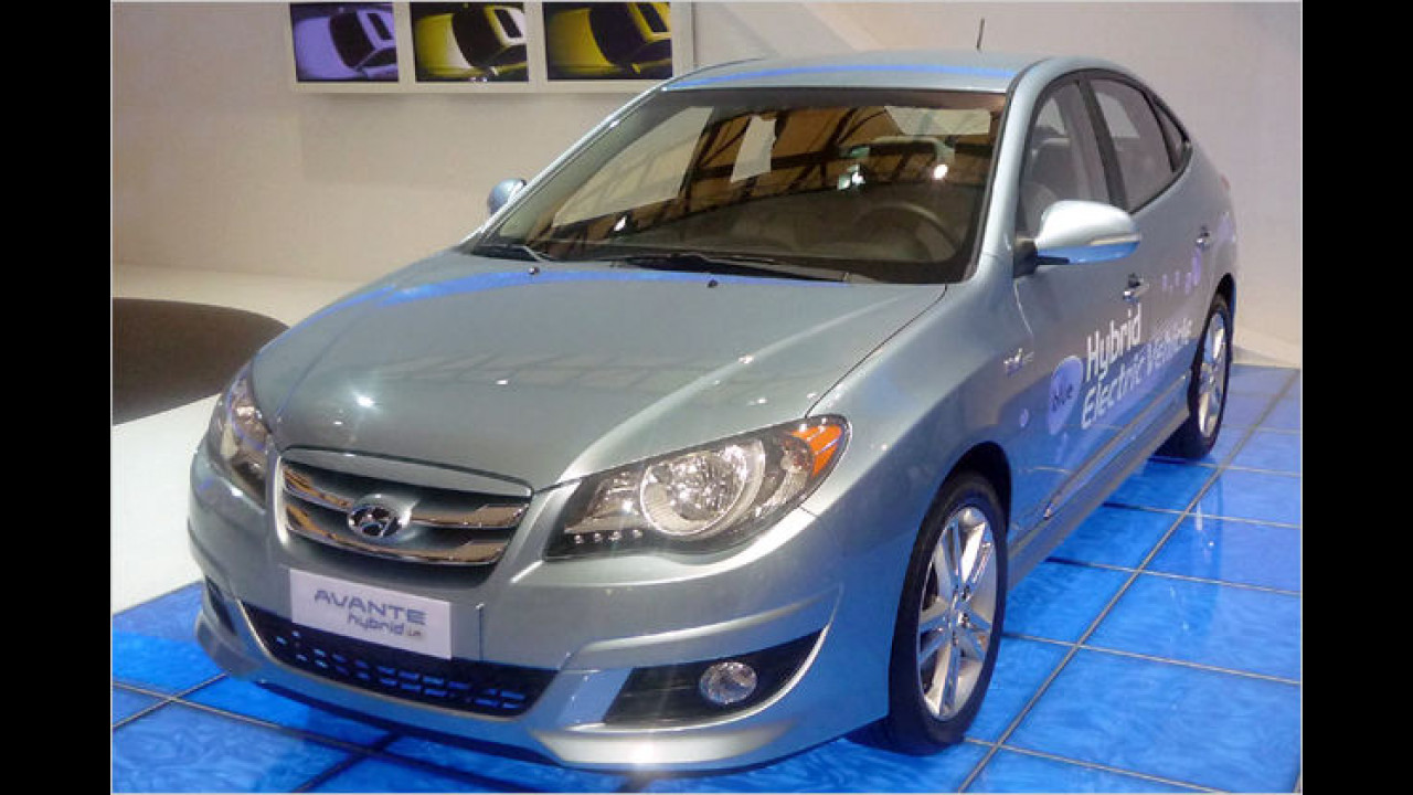 Hyundai Avante/Elantra Hybrid LPI