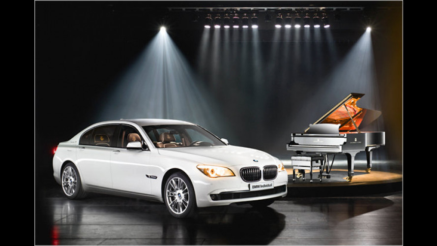 Inspired by Steinway & Sons: BMW 7er mit Piano-Touch