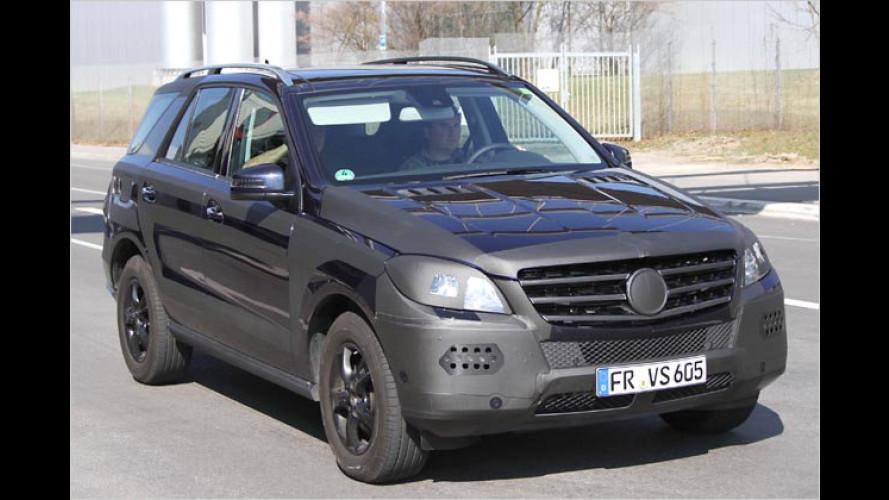 Erwischt: Mercedes ML und ML 63 AMG fast ungetarnt