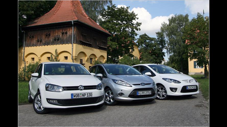 Wachstumsschub: Drei Kleinwagen im Vergleichstest