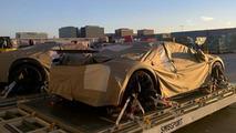Bugatti Chiron prototype spy photo