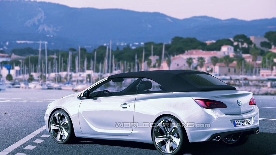 Possible Opel Astra convertible spied for first time