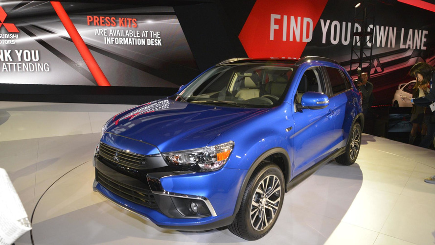 2016 Mitsubishi Outlander Sport debuts in LA with minor changes