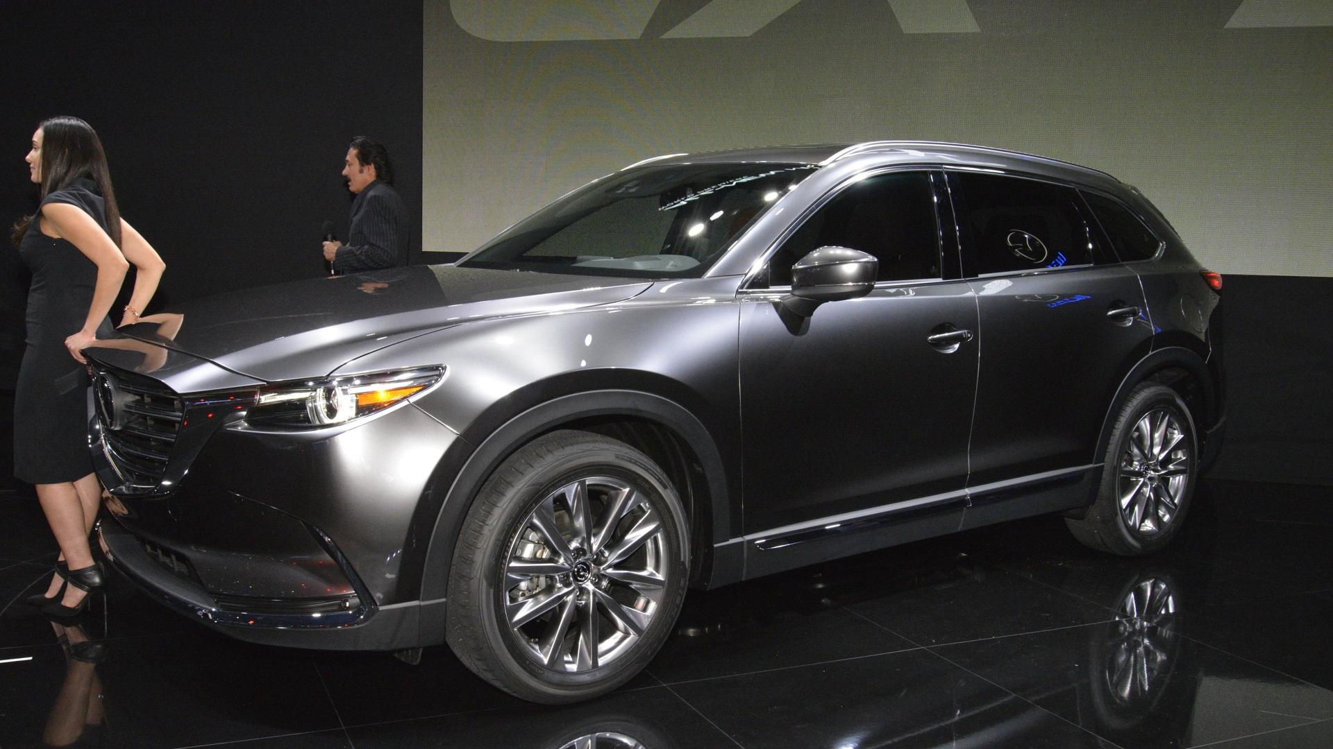 Mazda Cx5 2017 Colors >> 2017 Mazda CX-9 unveiled with a new turbocharged engine