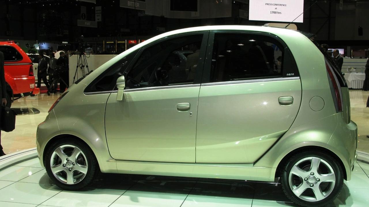 Tata Nana Europa at 2009 Geneva Motor Show