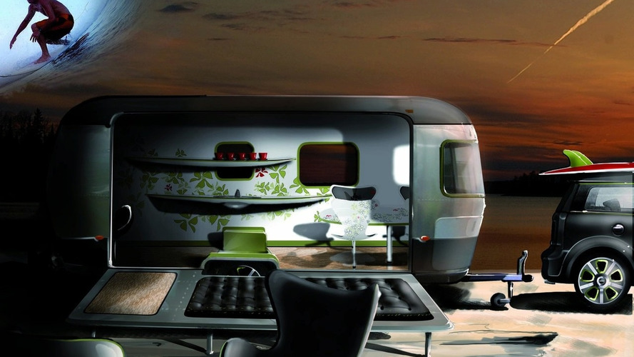 MINI Cooper S Clubman and Airstream Concept - Designed by Republic of Fritz Hansen