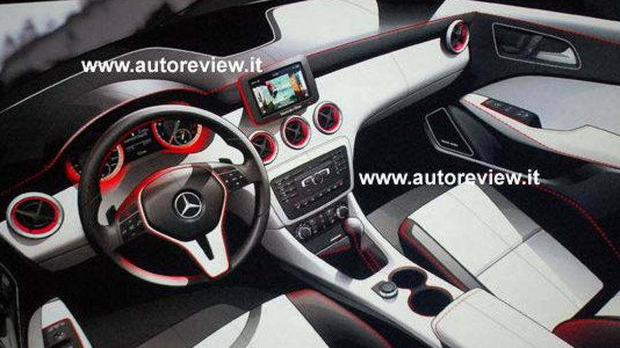 Mercedes confirms B-Class coupe & crossover - interior designs teased