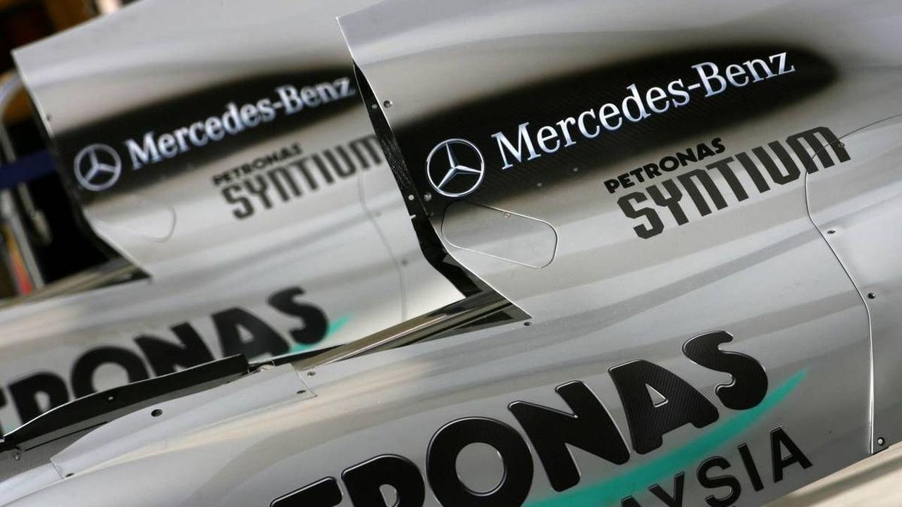 Mercedes GP engine cover detail, Bahrain Grand Prix, 10.03.2010 Sakhir, Bahrain