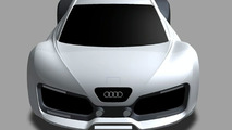 Audi RS7 Concept Artist Design Interpretation