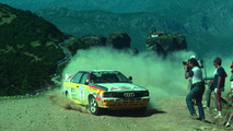 Audi quattro Rallye A2 Group B from 1984, world rally champion Hannu Mikkola drove that car at the Rally Akropolis in 1984.