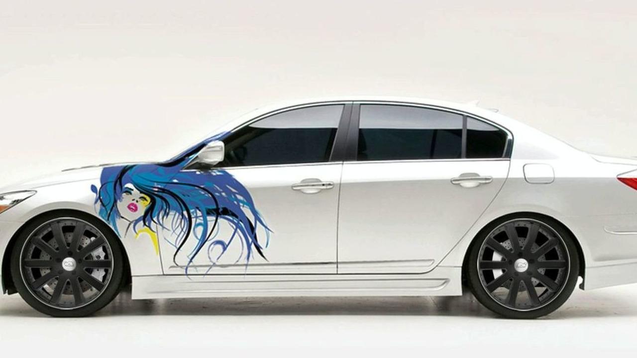 Street Concepts Hyundai Genesis sedan - 2009 SEMA