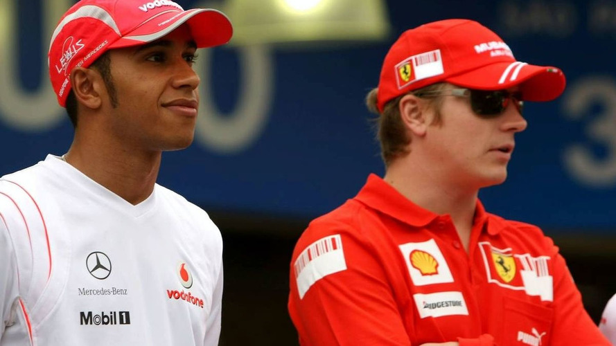 Raikkonen not afraid of Hamilton as teammate