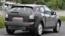 Mazda CX-5 spied with interior shots
