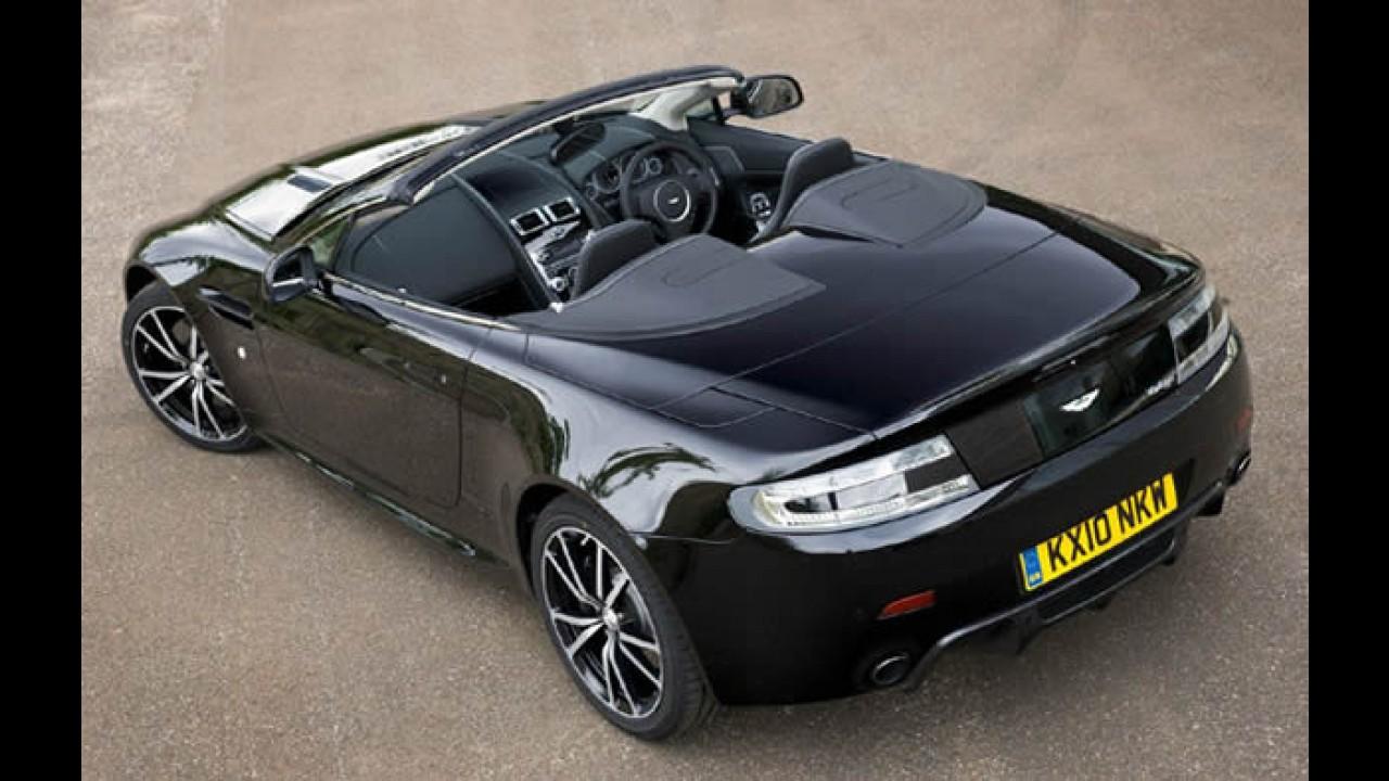 Aston Martin lança Vantage Roadster N420