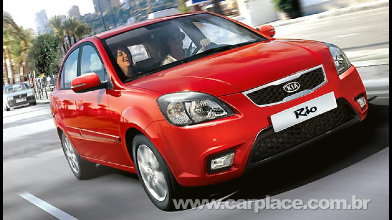 Kia Motors cresce 41% nas vendas globais em março