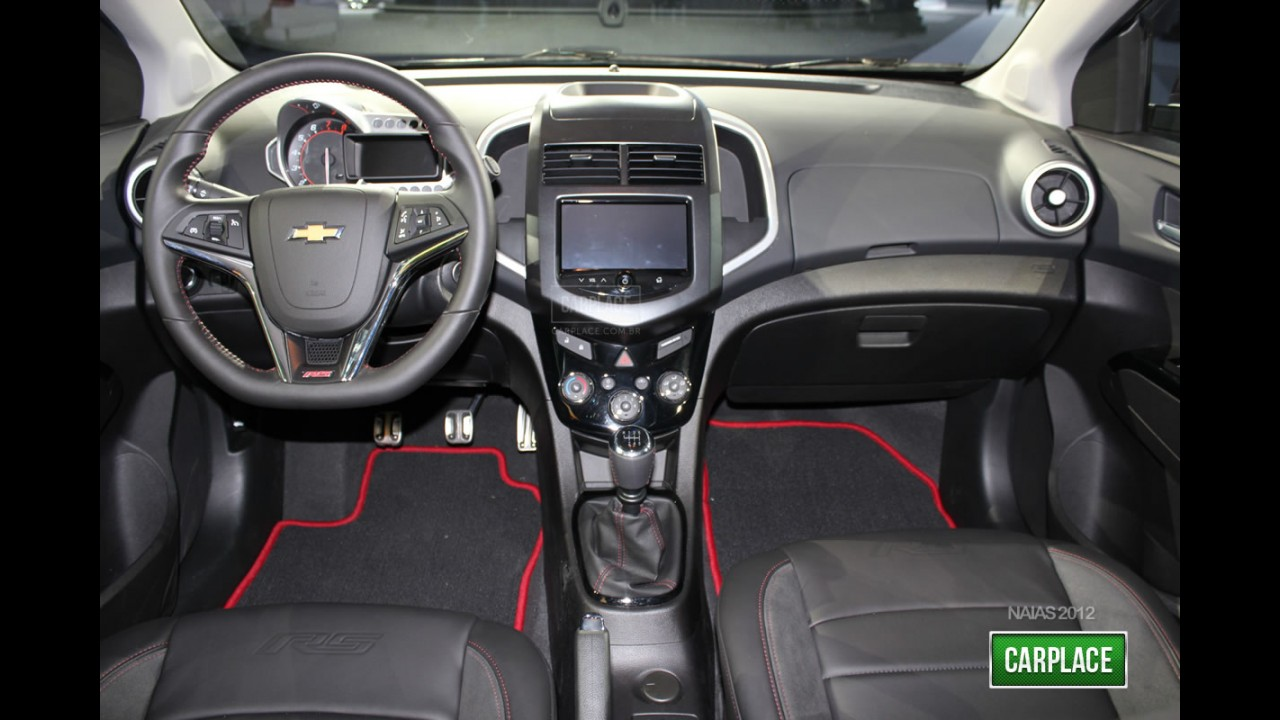 fotos hd novo chevrolet sonic rs turbo. Black Bedroom Furniture Sets. Home Design Ideas