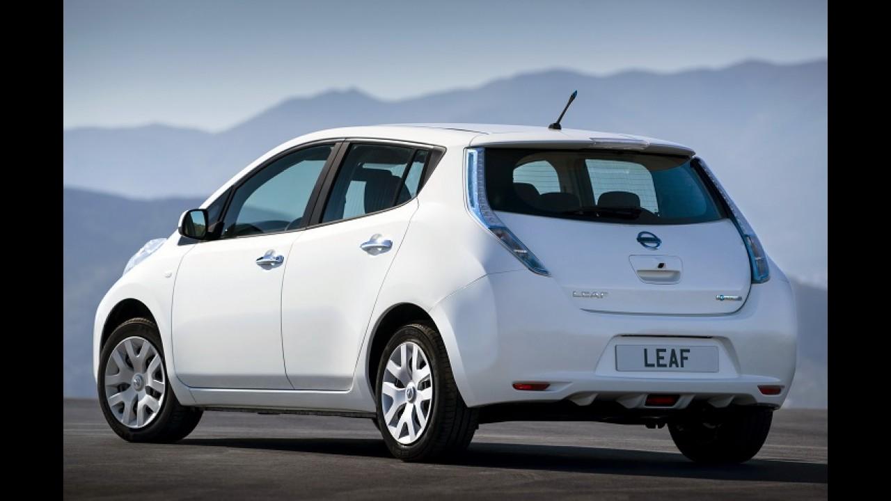 Recado para o Volt: Nissan diz que próximo Leaf terá autonomia de 400 km