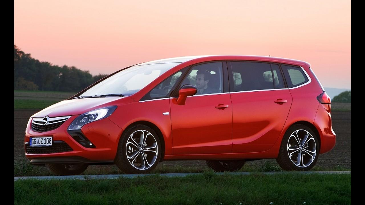 Menos MPV e mais SUV: novas Meriva e Zafira terão carroceria estilo crossover