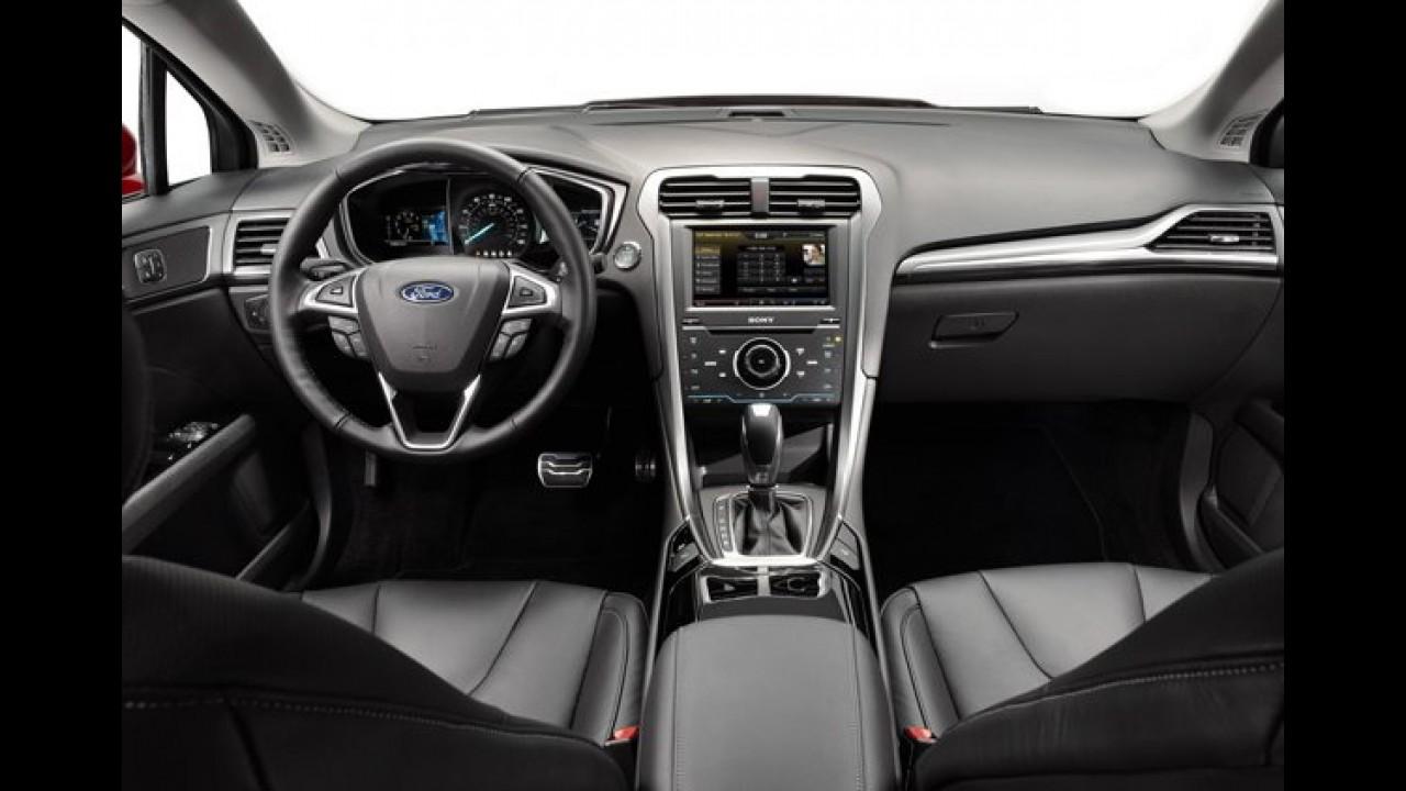 Fusion 2.0 EcoBoost de tração dianteira ganha novidades e parte de R$ 108,7 mil