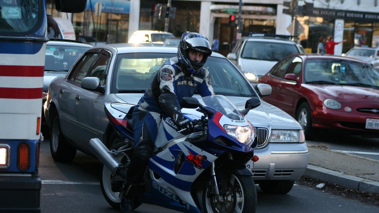 Motorcycle Lane Splitting