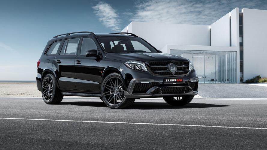 Brabus Mercedes GLS63 1450 Nm ile dağları yerinden oynatabilir