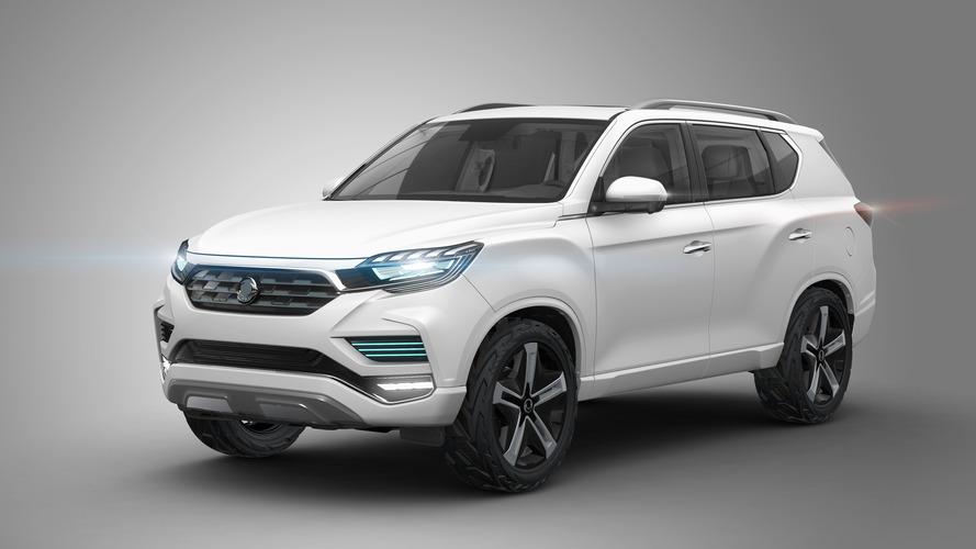 Ssangyong LIV-2 SUV Paris konsepti yeni tasarım dilini tanıttı