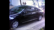 Leitor flagra o novo sedan Citroën C5 sem nenhum disfarce no Rio de Janeiro