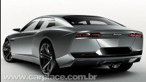 Estoque Concept - Lamborghini revela imagens oficiais do seu primeiro sedan