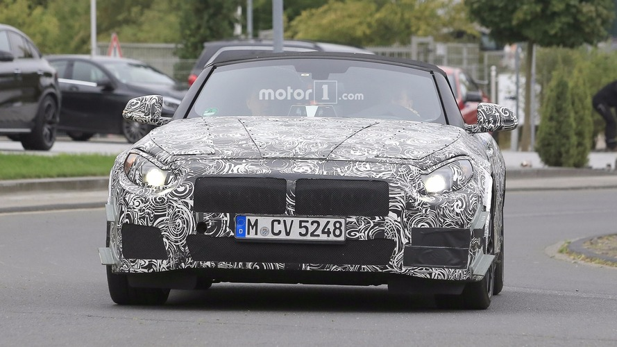 BMW Z5 spy photos
