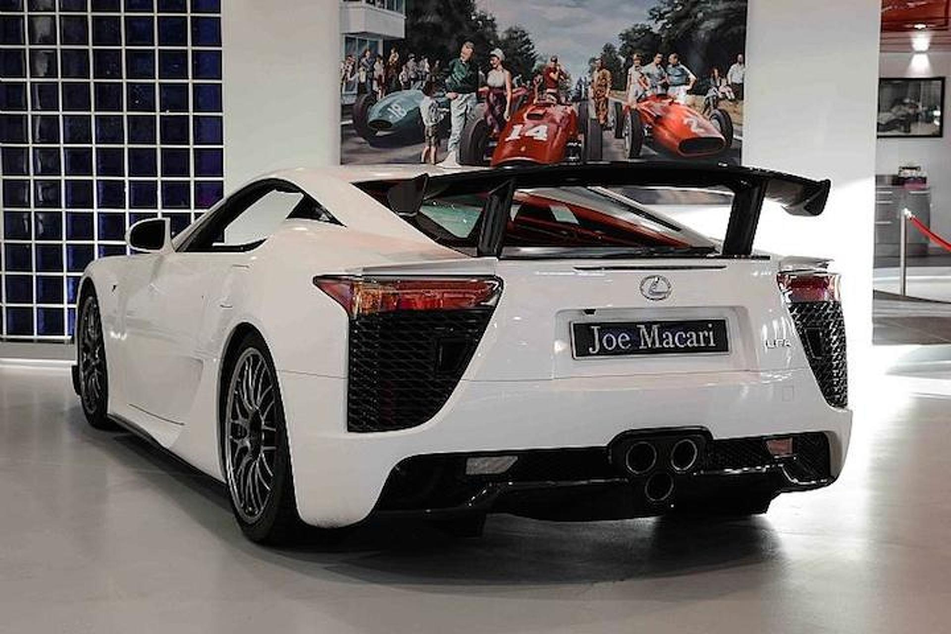 Guess How Much This Used Lexus LFA Nüburgring Edition Costs