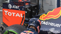Red Bull Racing RB12 rear wing detail