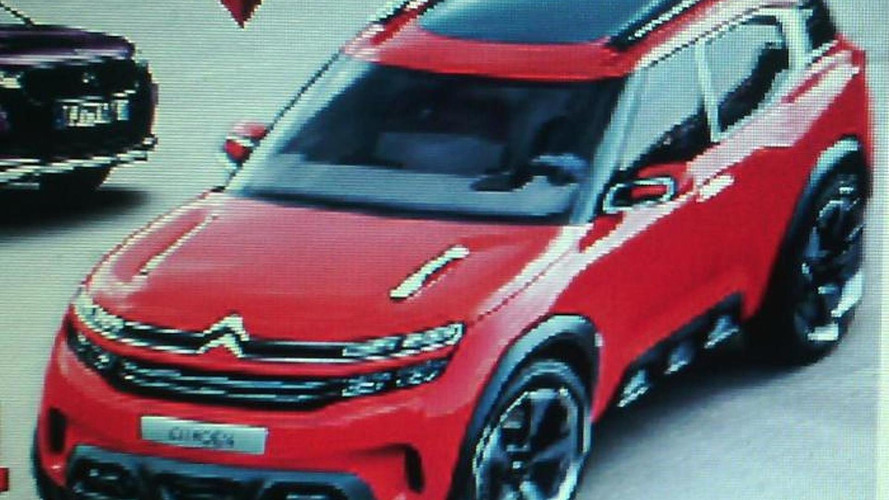 Citroen Aircross leaked ahead of April 8 official premiere