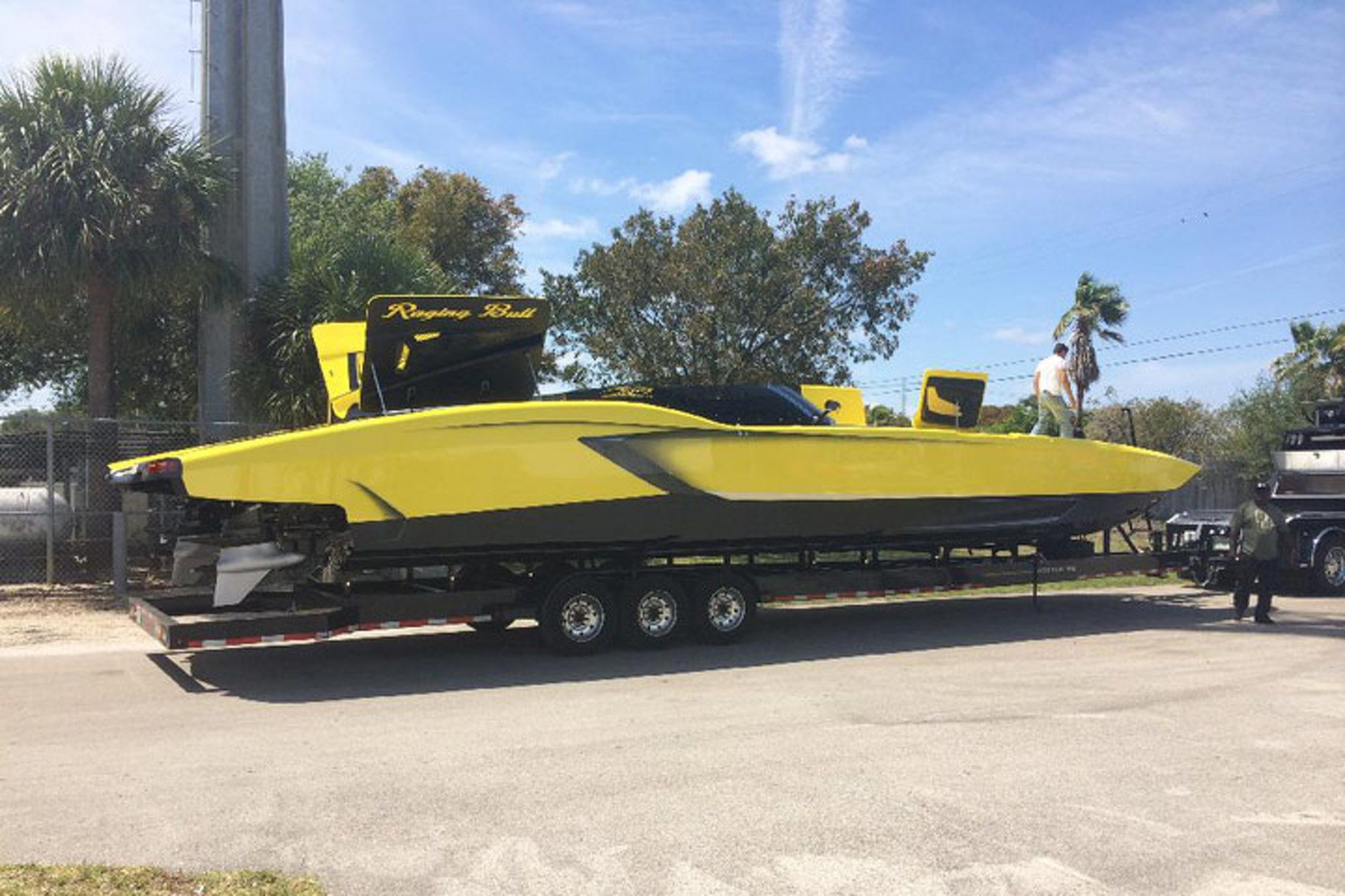 If Lamborghini Made Boats... Well You Get The Idea