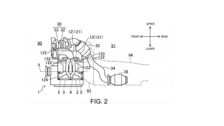 Mazda'nın Wankel motor patenti
