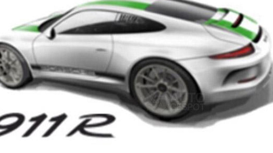 This could be the rumored Porsche 911 R; apparently sold out already