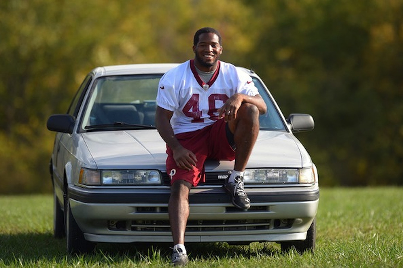Redskins RB Alfred Morris Getting His Mazda 626 Restored
