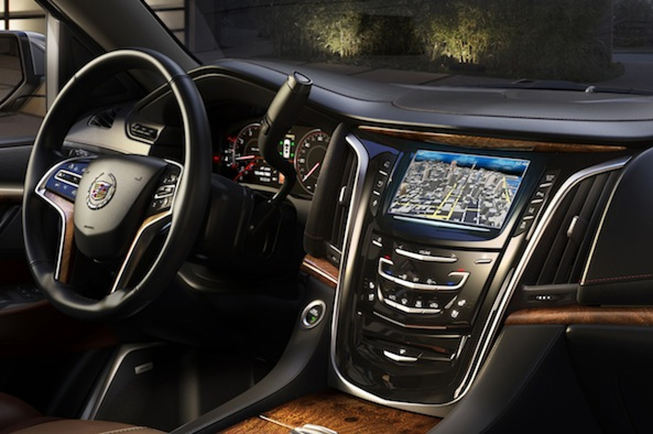 Cadillac Shows Off 2015 Escalade Interior