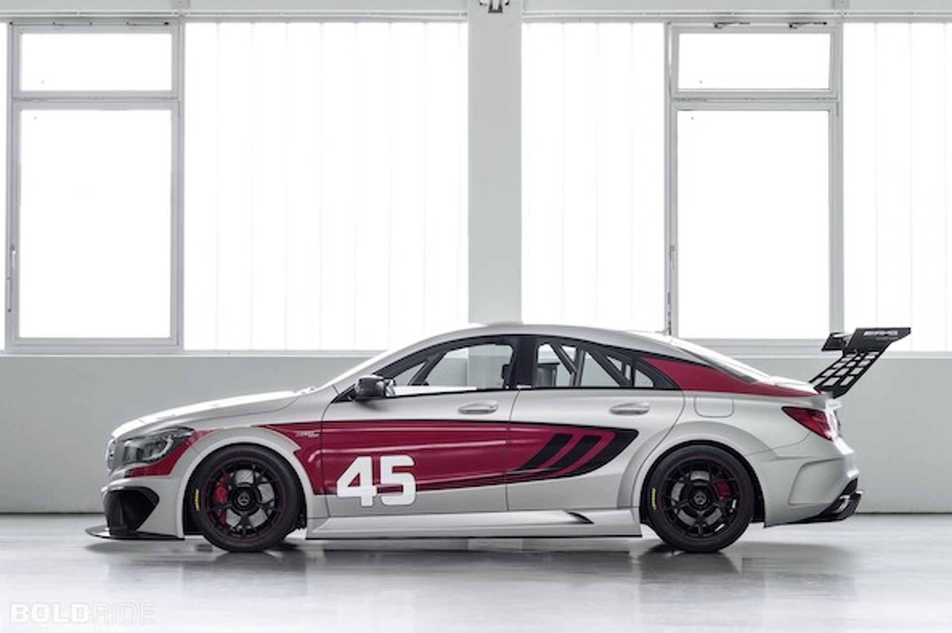 Mercedes-Benz Shows Off CLA 45 AMG in a Handsome Racing Suit